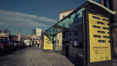 """В Бергамо появилась автобусная остановка """"smart-tech"""""""