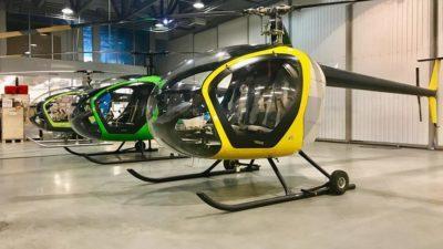В мережі з'явилися фото нових українських гелікоптерів