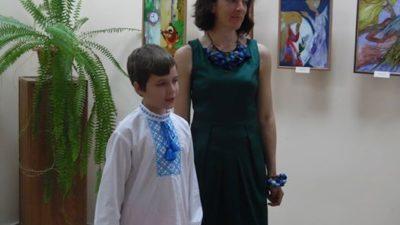 У Бердянську відкрито виставку десятирічного художника