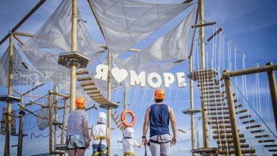 Відкрили перший справжній мотузковий парк в Бердянську.