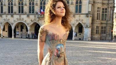 Казка у світи високої моди – каркаломні сукні Сільві Факон присвячені рідному місту