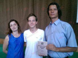У Бердянську презентували нову книгу про Джона Гріевза