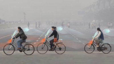 У Нідерландах створили еко-велосипед, який очищує повітря Пекіну.