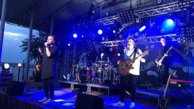 """Концерт """"Без обмежень"""" Бердянськ 21 липня (унікальне відео)"""