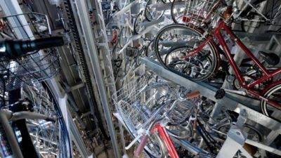 Надзвичайна автоматизована підземна стоянка для велосипедів в Японії