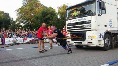 Литовец Видас Блекайтис победил в Бердянске