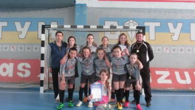 Дівчата з Городенки стали чемпіонками України з футзалу