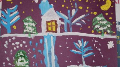 Різдвяний конкурс дитячих малюнків підбиває підсумки