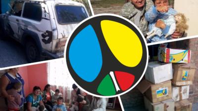 Така очікувана допомога із Італії для діточок Калинівського дитячого будинку