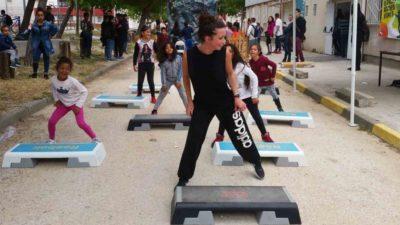 Феєрія здоров'я та спорту в Ла-Сейн-сюр-Мер