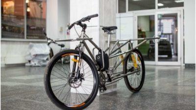 Українські інженери створили перший український електровелосипед