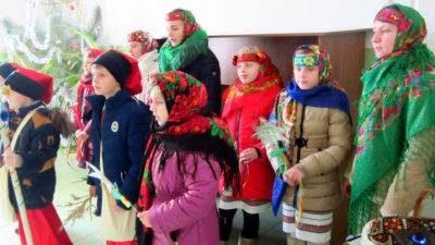 Щедрий вечір в Осипенківській громаді на Бердянщині