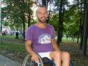 «Гордість України»: автостопом на візку