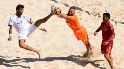 У Кременчуці готуються провести чемпіонат з пляжного футболу і «Кубок Дніпра»