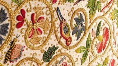 Цікаво про тканини середньовіччя