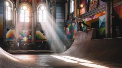 Відновити життя у покинутій церкві, перетворивши її в скейт-парк – таким є сучасний урбан