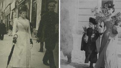 Як вбиралися модні киянки понад 100 років тому (фото)